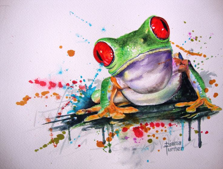 "My Friend, ""I See You"" Frog Watercolor Painting Original Limited Edition Giclee Print from my original watercolor painting. Friends 8 x 10 by Dianamturnerart on Etsy https://www.etsy.com/listing/196050519/my-friend-i-see-you-frog-watercolor"