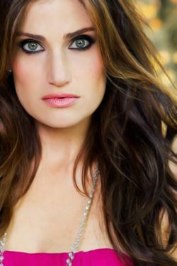 Idina Menzel ...  I have a newfound respect for this woman. Amazing voice!! And she's gorgeous!