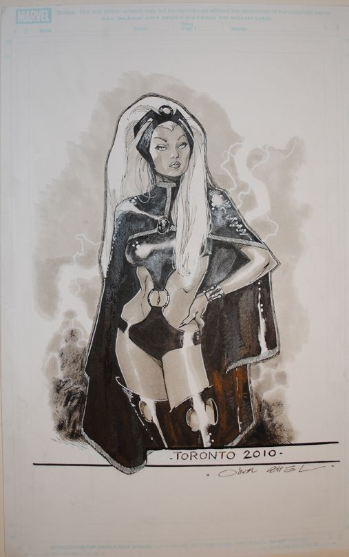 Olivier Coipel Art | ... pham storm artwork details title olivier coipel storm 4 artist olivier