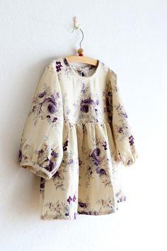 Kid's blouse tutorial and free pattern : Kokka
