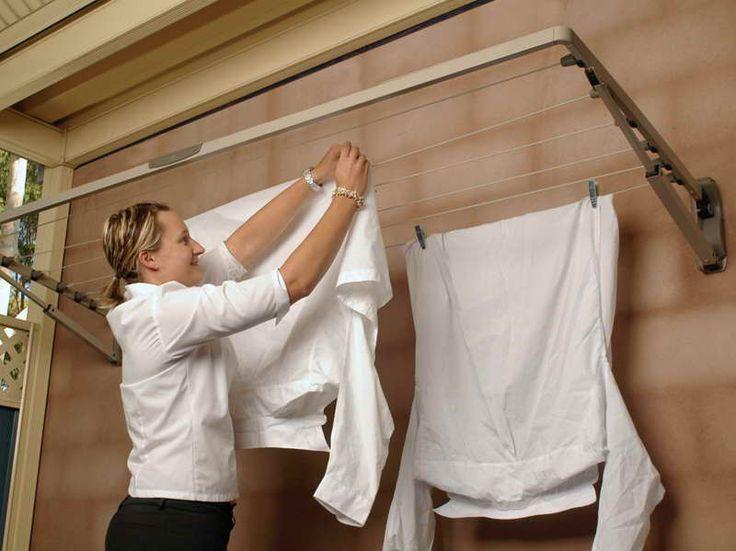 best 25 indoor clothes lines ideas on pinterest room. Black Bedroom Furniture Sets. Home Design Ideas