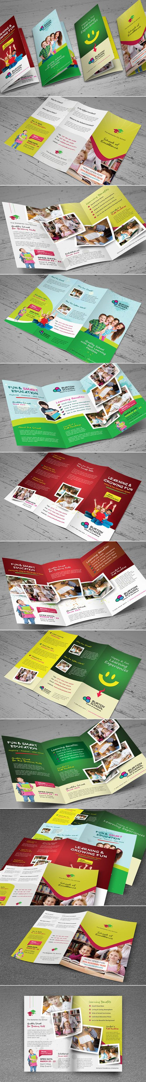 Educational Brochure for schools Brochures for your Professional Corporate…