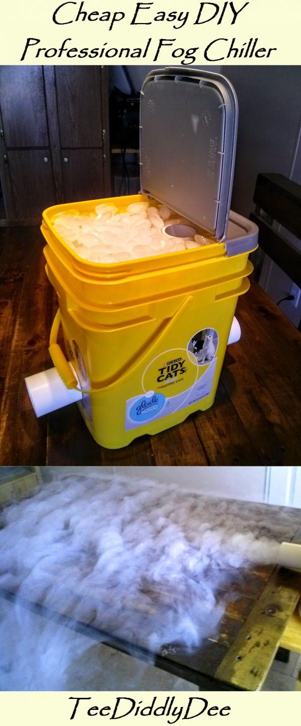 Cheap Easy DIY Professional Fog Chiller!