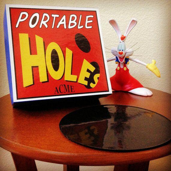 Acme Portable Holes Prop Roger Rabbit Cosplay Ready