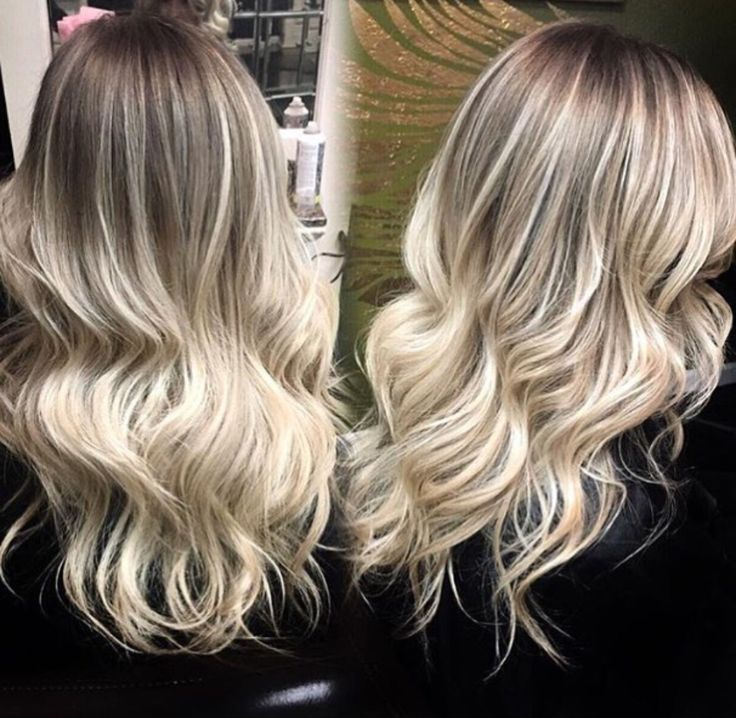 Shadow Root Blonde Grooming Hair Nails Amp Beauty