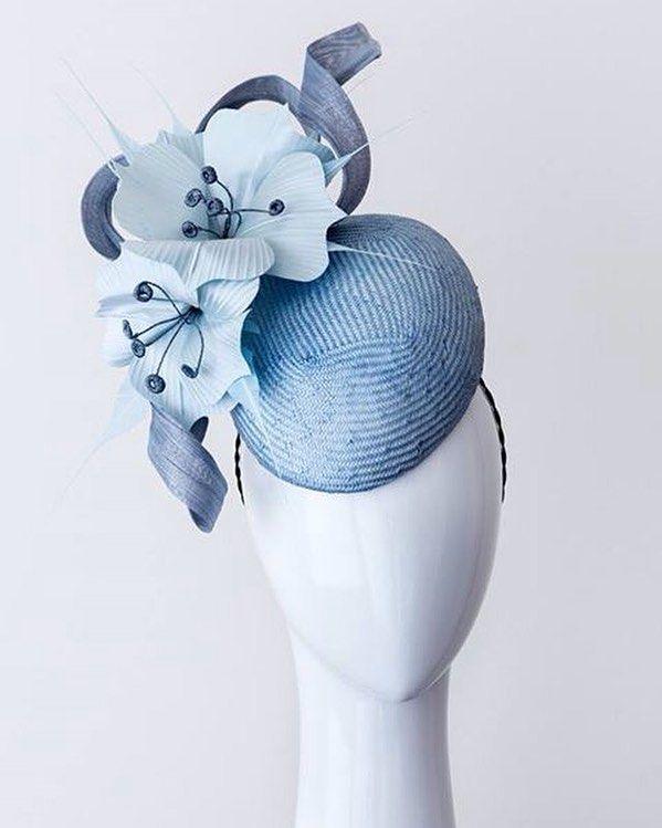 Shades of blue #newpiece #avaliable #racingfashion #fashionsonthefield #springcarnival #millinery #caulfieldcup