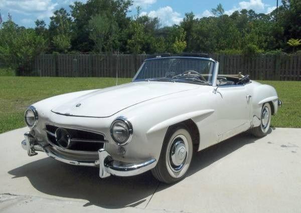 Running-Resto-Candidate-1960-Mercedes-Benz-190SL-for-sale-Three-Quarter