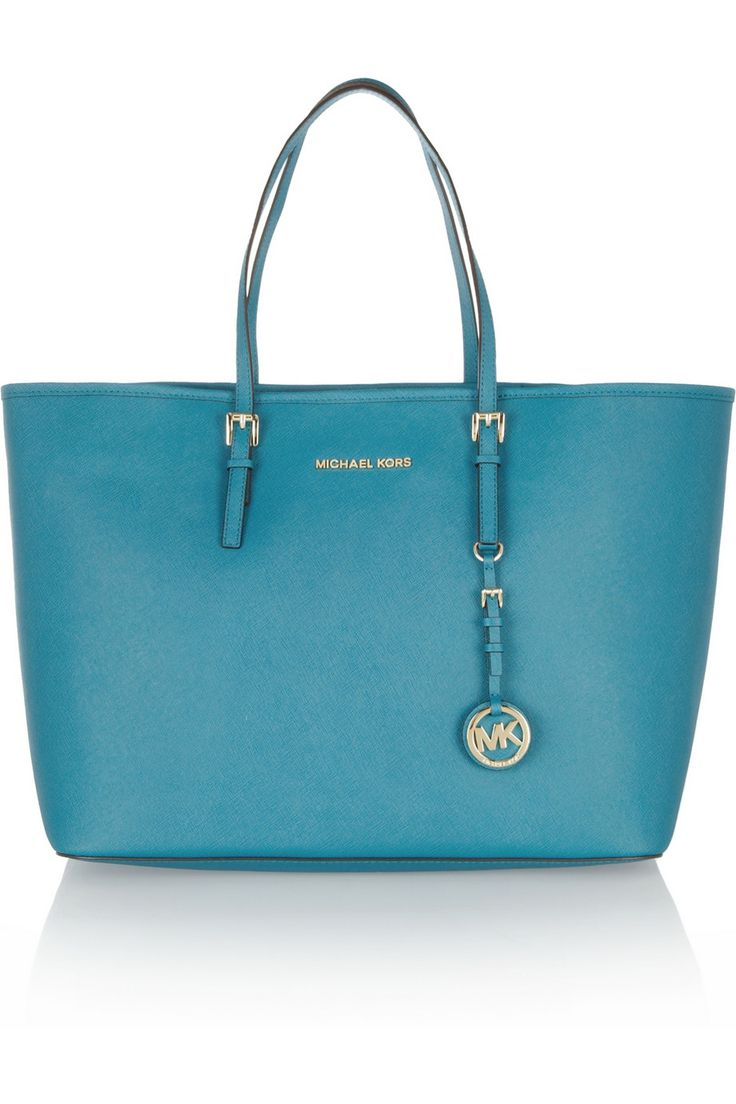 MICHAEL Michael Kors | Jet Set Travel medium textured-leather tote