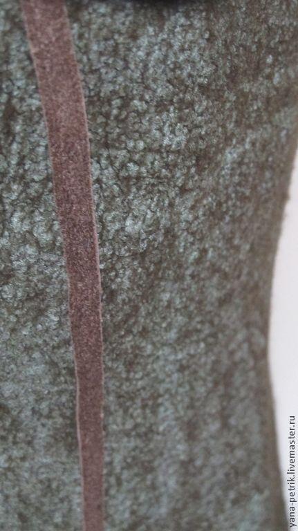 Купить Пиджак мужской ручной работы из шерсти и шелка Jean - хаки, однотонный, пиджак мужской