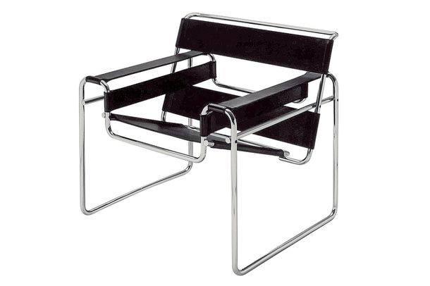 Кресло Wassily, дизайн Марселя Брейера (1925–1927), Knoll