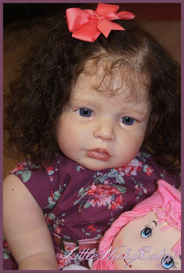 Lnb Reborn Toddler Girl Lena New Sculpt Regina