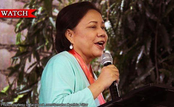 Di ko nga mapagsabihan mga anak ko, si Senator Antonio Trillanes IV pa - Senator Cynthia Villar