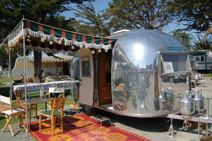 An Airstream Bambi. Joe and I had the opportunity to buy one that needed some work when our kids were little for $1000. I could just kick myself for not jumping on that!