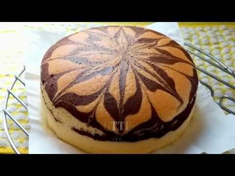 Soft Marble Butter Sponge Cake - YouTube