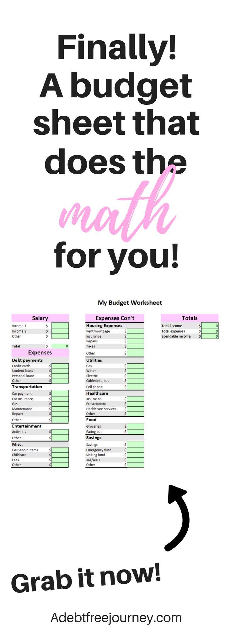Ausgezeichnet Budgetvorlagen Kostenlos Fotos - Entry Level Resume ...