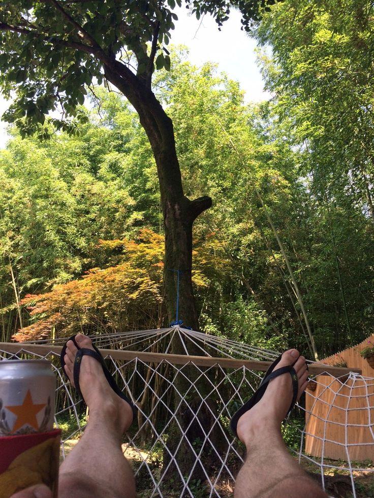 The Damyang House: hammock