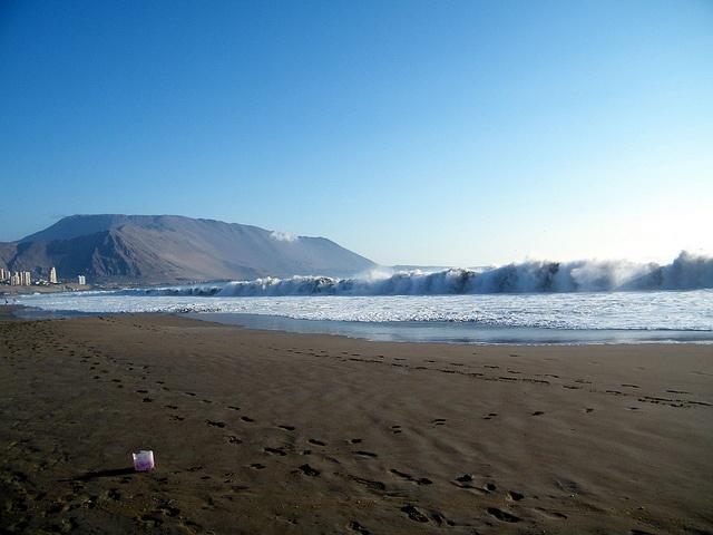 Iquique, Playa Brava  by marceleau, via Flickr