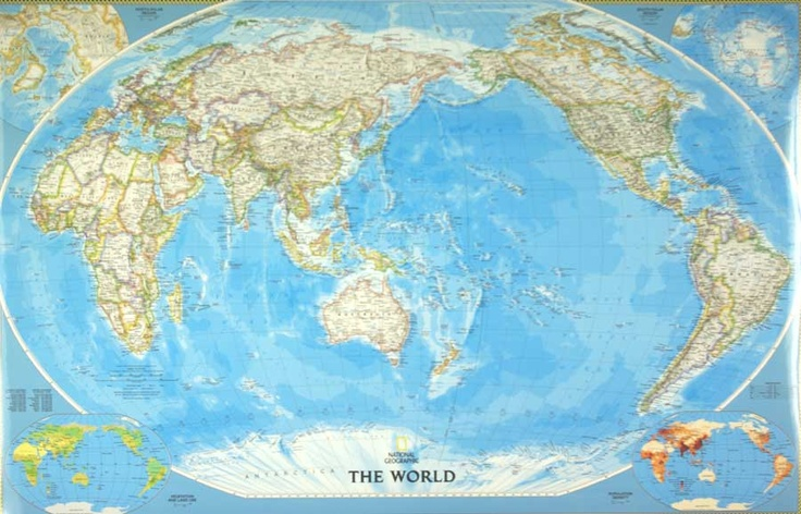 yet another world map wallpaper
