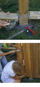 Basics of Fence Building