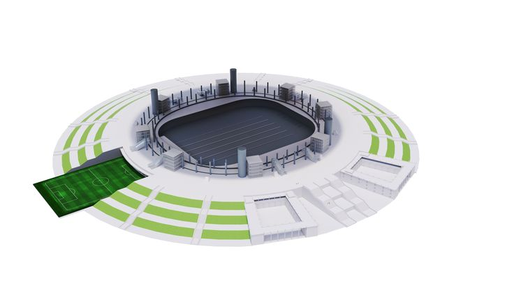 Russian News Agency TASS recalls various stages of the stadium's construction, which lasted longer than the construction of the Roman Colosseum, and provides information on the specifics of the football arena.