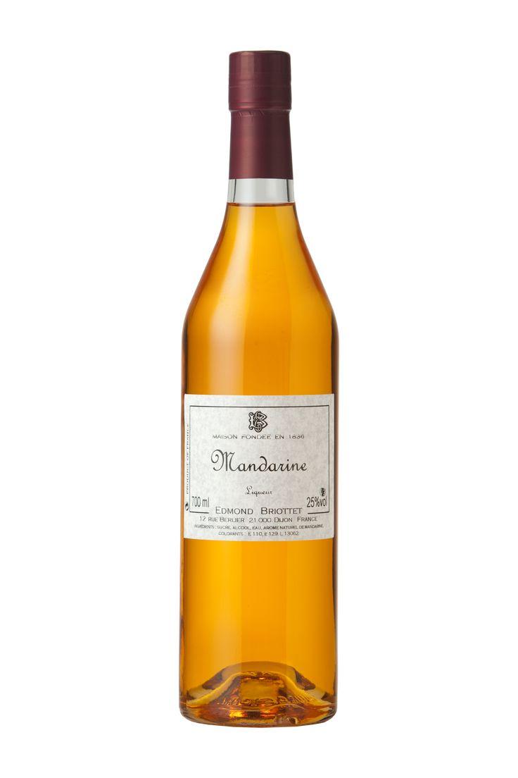 Λικερ μανταρινι (25% αλκοολ) της εταιριας Edmond Briottet αποκλειστικά στην Ελλάδα από τη Granikal! @Granikal