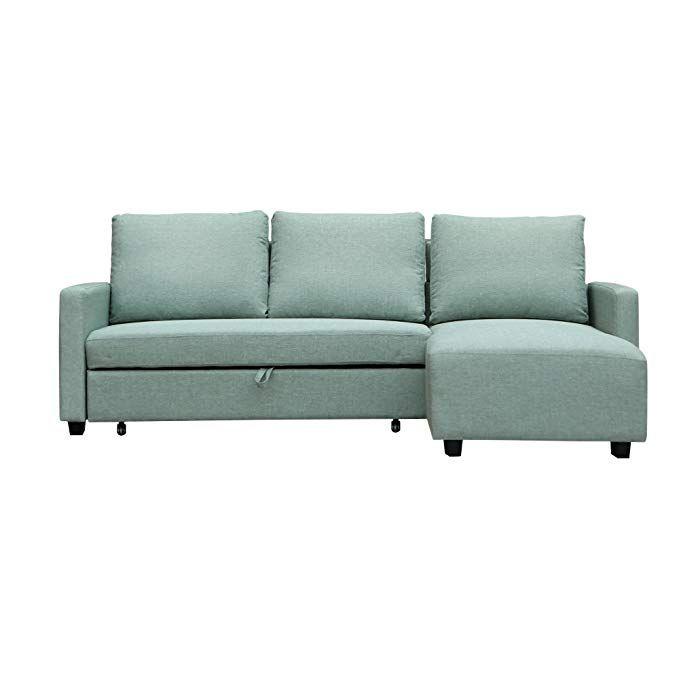 Furniture 247 Sofa In L Form Beidseitig Verwendbar Grun