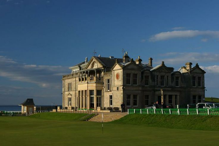 The Royal and Ancient Clubhouse, St Andrews Davidson Taxi Transfers
