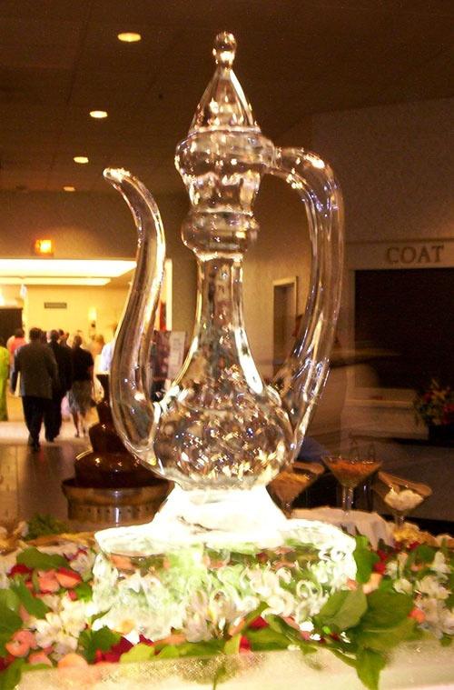 arabic pitcher centerpiece idea lol