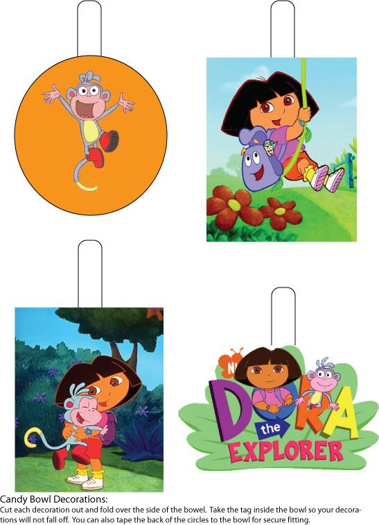14 Best Images About Dora Party On Pinterest