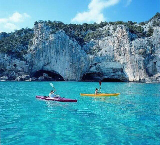 Grotto del bue marino, sardinie
