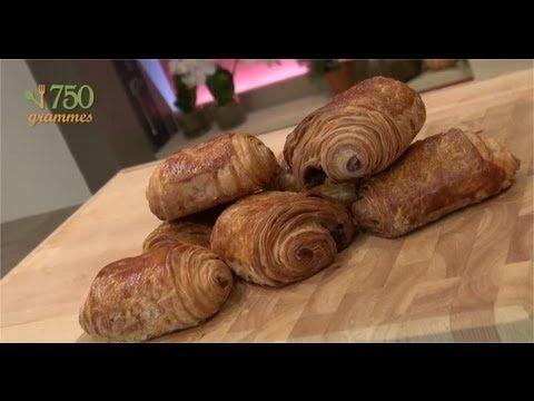 ▶ Recette des Pains au chocolat ou Chocolatine - 750 Grammes - YouTube