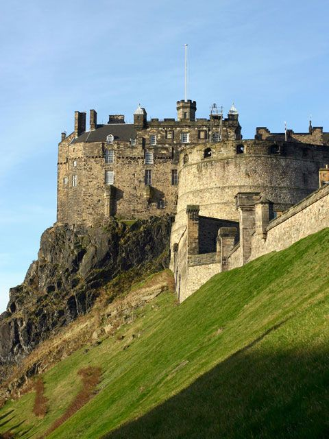 Edinburgh Castle, one of the most haunted places in the world