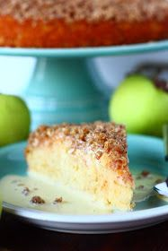 Suklaapossu: Helppo ja mehevä omenapiirakka kauramurupäällisellä (maidoton)