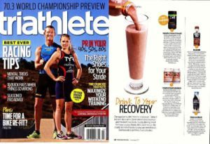 Herbalife24 Rebuild Strength voted best recovery drink by Triathlete magazine.