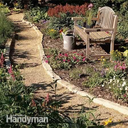 outdoor pathways ideas | Affordable Garden Path Ideas | The Family Handyman
