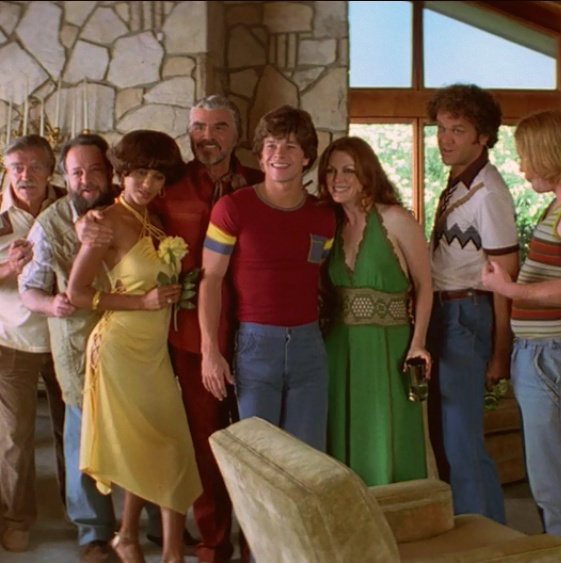 Boogie Nights (1997) with Mark Wahlberg, Julianne Moore, Don Cheadle, Heather Graham and John C. Reilly