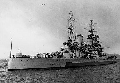 HMS Duke of York (17) KGV battleship-class. (google.iomage) 7.17