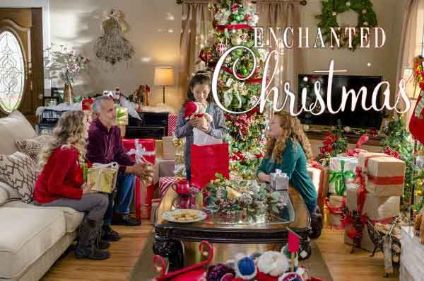 Enchanted Christmas #Movie takes you to Rosemont, Utah where Laura must make difficult decisions on the Christmas morning. #Hallmark #Romace