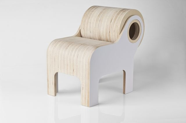 Bull, children chair by Fukuroo