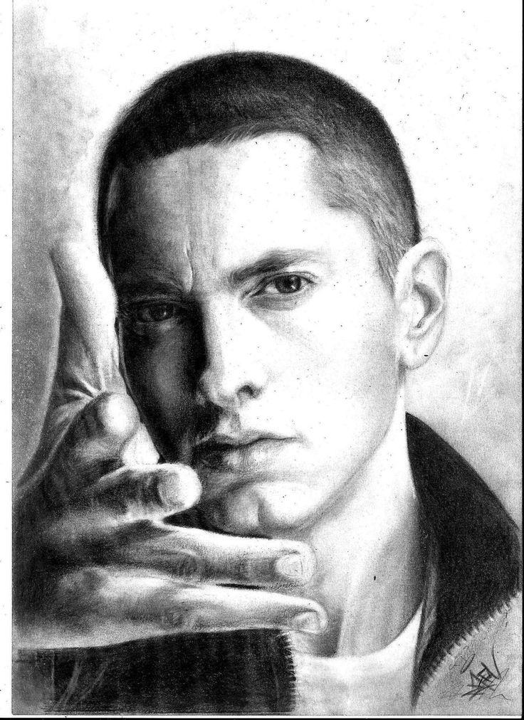 eminem portrait tattoos - Google Search | Eminem ...