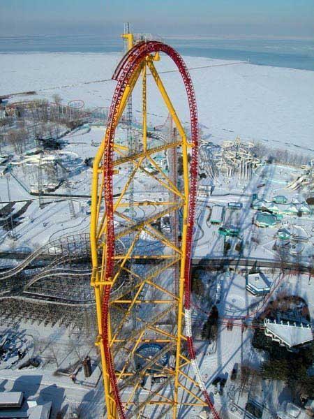 Scary Roller Coasters Drops | picture ohio roller coaster sandusky ohio