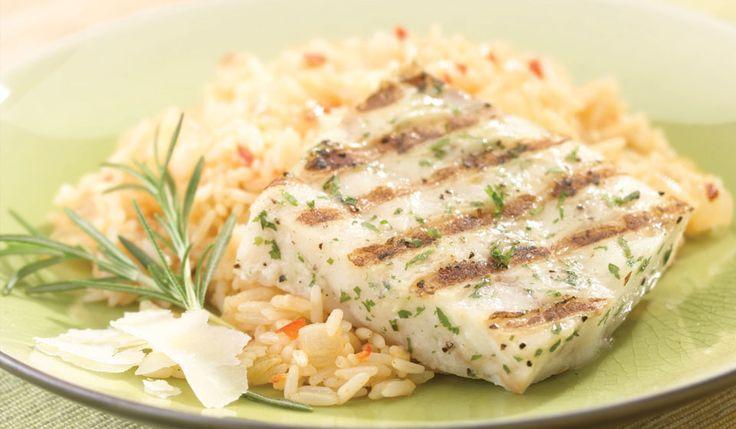 Gorton's Seafood   Garlic Butter Grilled Fillets over Parmesan Rice