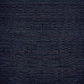 allen   roth Navy Blue Grasscloth Unpasted Textured Wallpaper