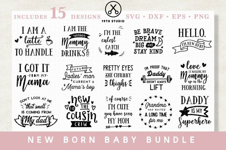 Download Download Baby Svg Bundle Mb20 117611 Today We Have A Huge Range Of Svgs Products Available Commercial License Incl In 2020 Baby Svg Dog Mom Quotes Design Bundles