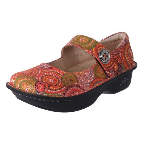 Rock Bottom Mary Jane Anti Slip Work shoes Bailey PG Mosaic | The Shoe Link