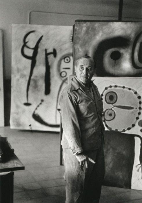 MiróApply Colors, Artists Studios, Henry Cartier Bresson, Joan Miro, Joan Miró, Shape Music, Henry Cartierbresson, Shape Poems, Art Painting