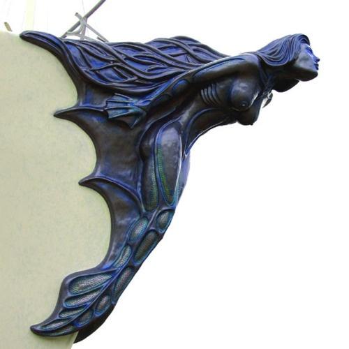 ship figurehead mermaid