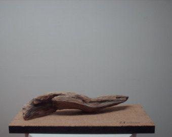Freude an der Natur Treibholz und Draht Skulptur von idestudiet