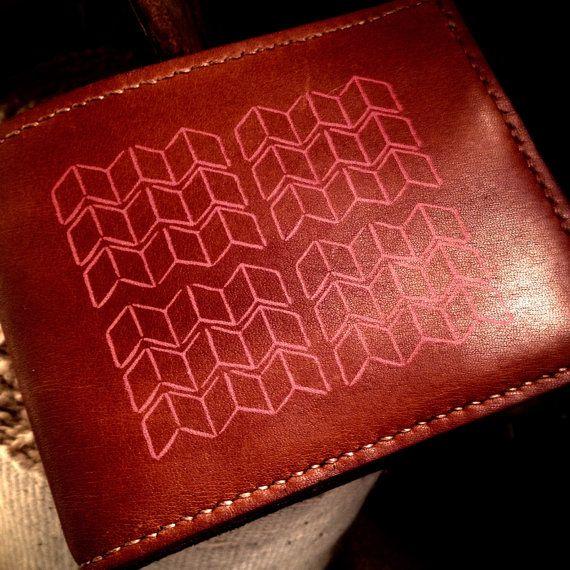 Porte carte / Wallet par CavaleMaroquinerie sur Etsy