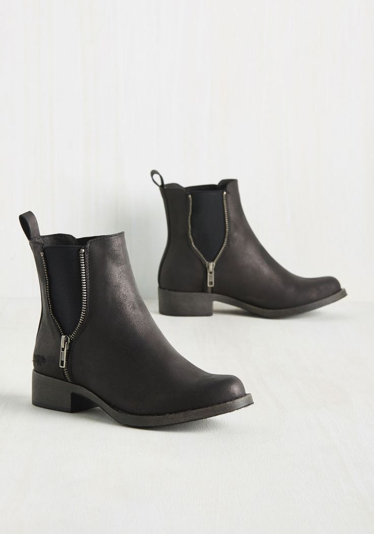 Casual Influence Boot in Matte Black, @ModCloth